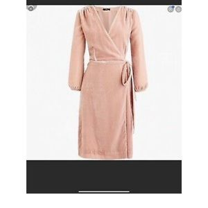 J. Crew Velvet Wrap Dress size 4